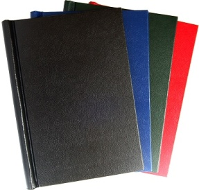 Leather style family book